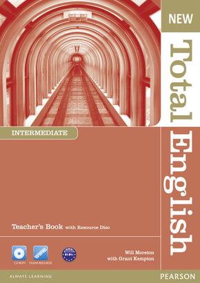 New Total English, Intermediate: Teacher's Book, w. Resource-CD-ROM