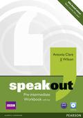 Speakout: Pre-intermediate, Workbook w. Key and Audio-CD