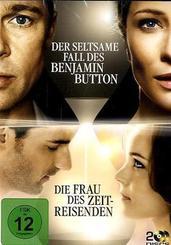 Der seltsame Fall des Benjamin Button / Die Frau des Zeitreisenden, Buchhandelsedition, 2 DVDs