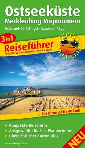 3in1-Reiseführer Ostseeküste Mecklenburg-Vorpommern