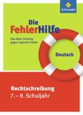 Die FehlerHilfe, Deutsch Rechtschreibung 7.-9. Schuljahr