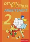 Denken und Rechnen, Ausgabe 2011: 2. Schuljahr, Arbeitsheft