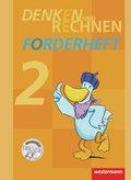 Denken und Rechnen, Zusatzmaterialien, Ausgabe 2011: Forderheft Klasse 2
