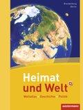 Heimat und Welt, Weltatlas (2011): Ausgabe Berlin / Brandenburg, m. Arbeitsheft