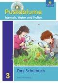 Pusteblume - Mensch, Natur und Kultur, Ausgabe 2010 für Baden-Württemberg: 3. Schuljahr, Das Schulbuch