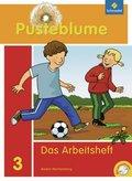 Pusteblume, Das Sprachbuch, Ausgabe 2010 Baden-Württemberg: 3. Schuljahr, Das Arbeitsheft m. CD-ROM