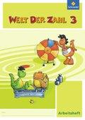 Welt der Zahl, Ausgabe 2010 Berlin, Brandenburg, Bremen, Mecklenburg-Vorp, Thüringen u. Sachsen-A.: 3. Schuljahr, Arbeitsheft