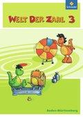 Welt der Zahl, Ausgabe 2010 Baden-Württemberg: 3. Schuljahr, Schülerband