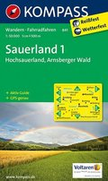 Kompass Karte Sauerland - Tl.1