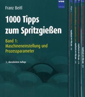 1000 Tipps zum Spritzgießen, 5 Bde. - Bd.1-5