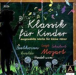 Klassik für Kinder, 2 Audio-CDs - Vol.1