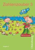 Zahlenzauber, Ausgabe G: 3. Schuljahr, Schülerbuch mit Kartonbeilagen