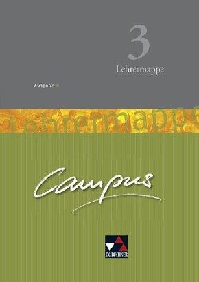 Campus, Ausgabe B: Lehrermappe Basis, m. CD-ROM; Bd.3