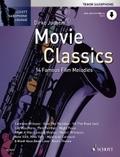 Movie Classics, für Tenorsaxophon, m. Klaviersatz