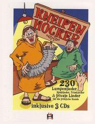 Kneipenhocker, m. 3 Audio-CDs
