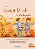 Herbst-Musik im Kindergarten, m. Audio-CD