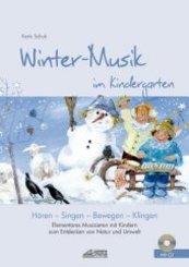 Winter-Musik im Kindergarten, m. Audio-CD