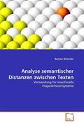 Analyse semantischer Distanzen zwischen Texten (eBook, PDF)