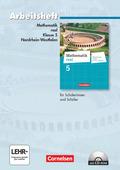 Mathematik Real, Differenzierende Ausgabe Nordrhein-Westfalen (2011): 5. Schuljahr, Arbeitsheft m. CD-ROM