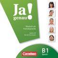 Ja genau! - Deutsch als Fremdsprache: Audio-CD; Bd.B1/1