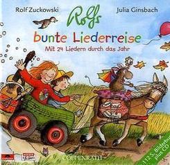 Rolfs bunte Liederreise, m. Audio-CD