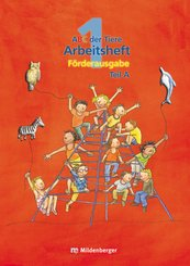 ABC der Tiere: 1. Schuljahr, Arbeitsheft Kompakt Teil A und B, 2 Hefte m. CD-ROM