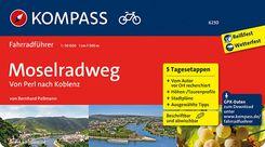 KOMPASS Fahrradführer Moselradweg, Von Perl nach Koblenz