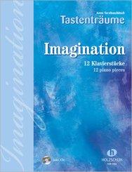 Imagination, für Klavier, m. Audio-CD