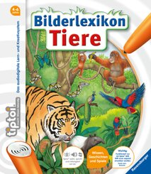 tiptoi®: tiptoi® Bilderlexikon Tiere; .