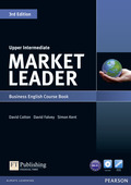 Market Leader Upper Intermediate 3rd edition: Course Book, w. DVD-ROM