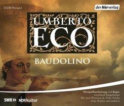 Baudolino, 5 Audio-CDs