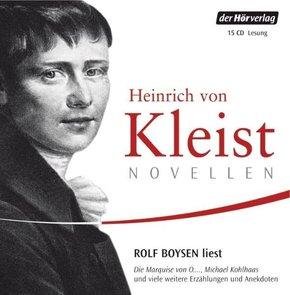 Novellen; gelesen von Rolf Boysen; Deutsch