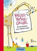 Krickel-Krakel-Grüße. 30 Pos