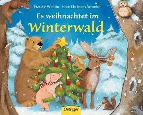 Es weihnachtet im Winterwald