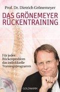Das Grönemeyer Rückentraining, m. DVD