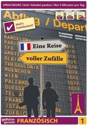 Französisch, Eine Reise voller Zufälle, DVD-ROM - Tl.1
