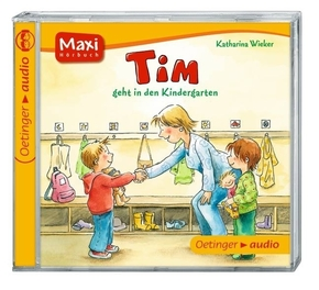 Tim geht in den Kindergarten, 1 Audio-CD
