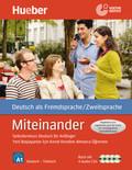 Miteinander - Selbstlernkurs Deutsch für Anfänger: Yeni Baslayanlar Için Kendi Kendine Almanca Ögrenme Kursu, Lehrbuch m. 4 Audio-CDs