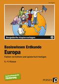 Basiswissen Erdkunde: Europa, m. CD-ROM