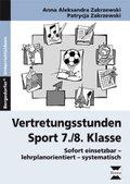 Vertretungsstunden Sport 7./8. Klasse