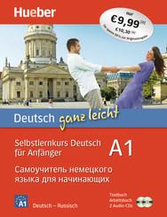 Deutsch ganz leicht A1: Deutsch ganz leicht A1, m. 1 Buch, m. 1 Buch