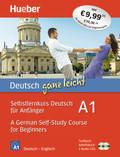 Deutsch ganz leicht A1: Selbstlernkurs Deutsch für Anfänger / A German Self-Study Course for Beginners, Textbuch + Arbeitsbuch + 2 Audio-CDs