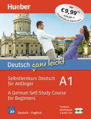 Deutsch ganz leicht A1, m. 1 Buch, m. 1 Buch