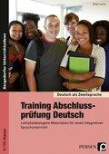 Training Abschlussprüfung Deutsch