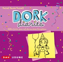 Dork Diaries - Nikkis (nicht ganz so) glamouröses Partyleben, 2 Audio-CDs