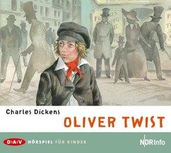 Oliver Twist, 2 Audio-CDs