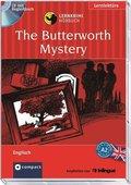The Butterworth Mystery, 1 Audio-CD m. Begleitbuch
