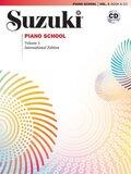Suzuki Piano School, New International Edition, w. Audio-CD - Vol.1