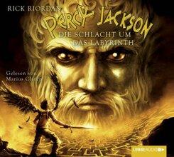 Percy Jackson, Die Schlacht um das Labyrinth, 4 Audio-CDs