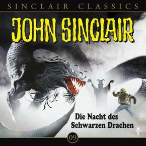 Geisterjäger John Sinclair Classics - Die Nacht des Schwarzen Drachen, 1 Audio-CD